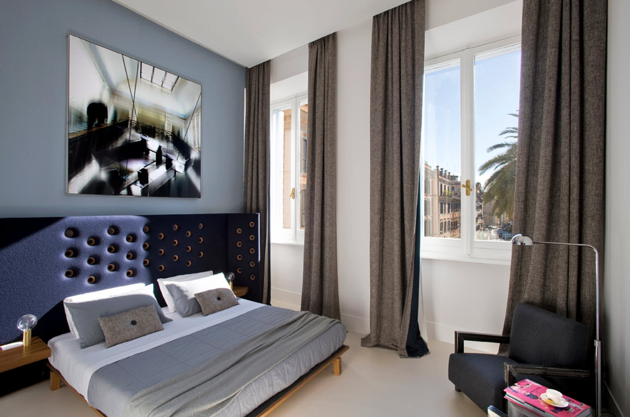 chambres hotes design et galerie art Piazza di Spagna