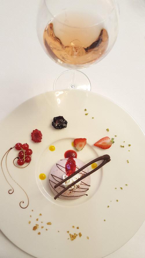 Champagne avec dessert