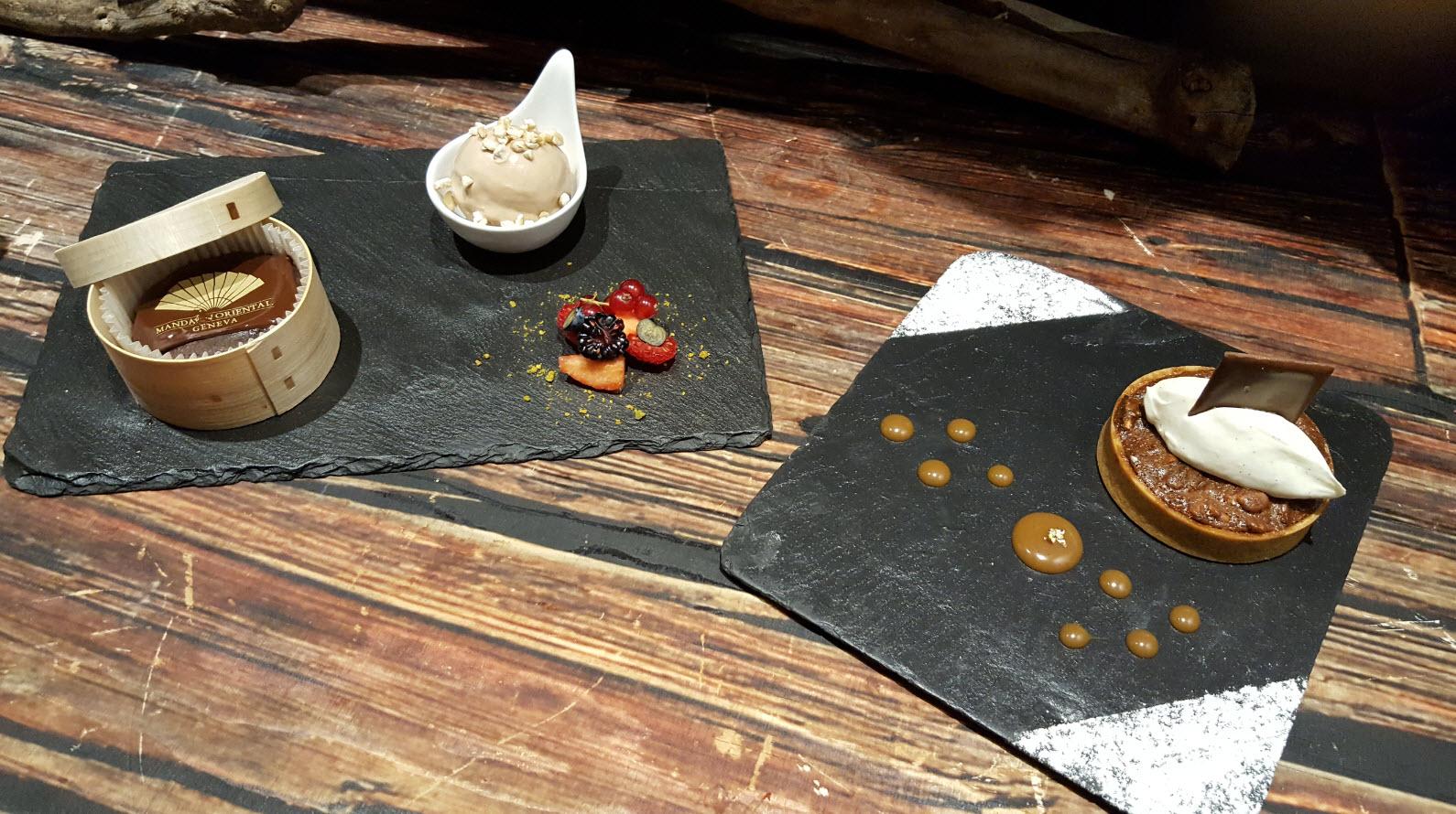 Autres desserts au menu