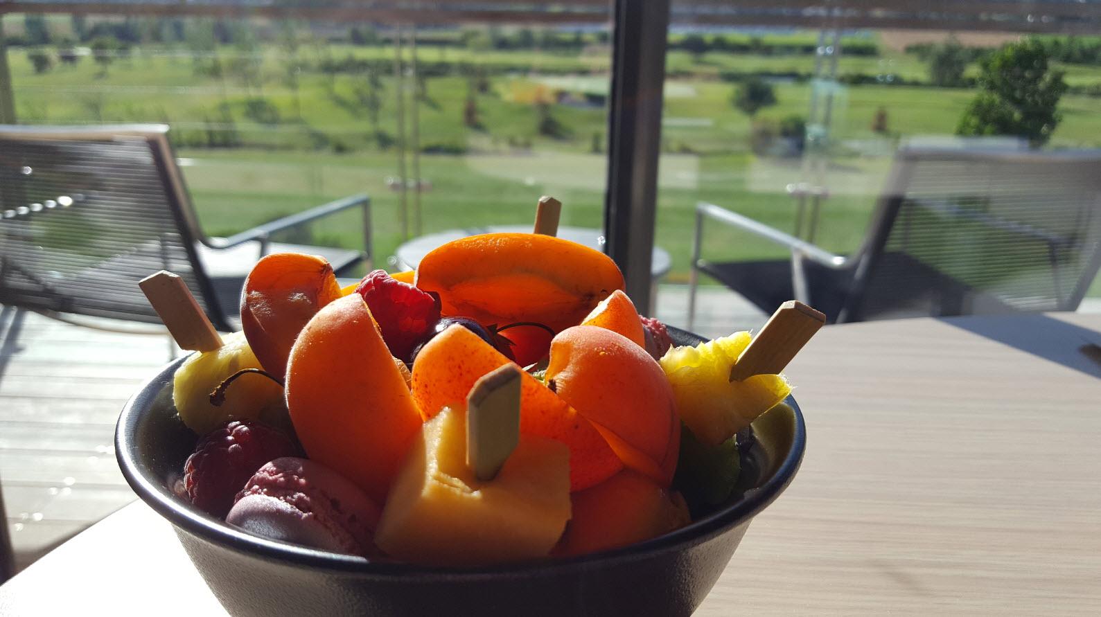 Fruits de bienvenue