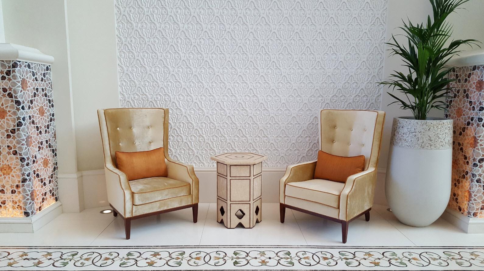 Detail fauteuils