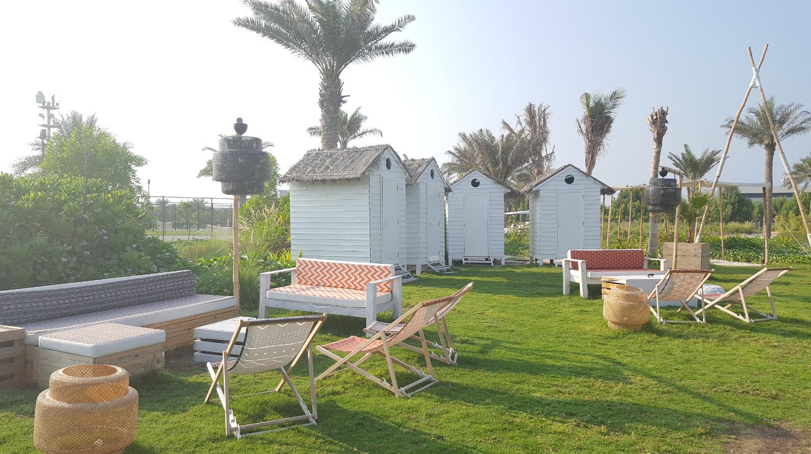 Petites huttes