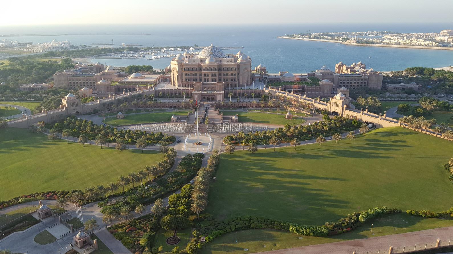 Vue sur Emirates Palace