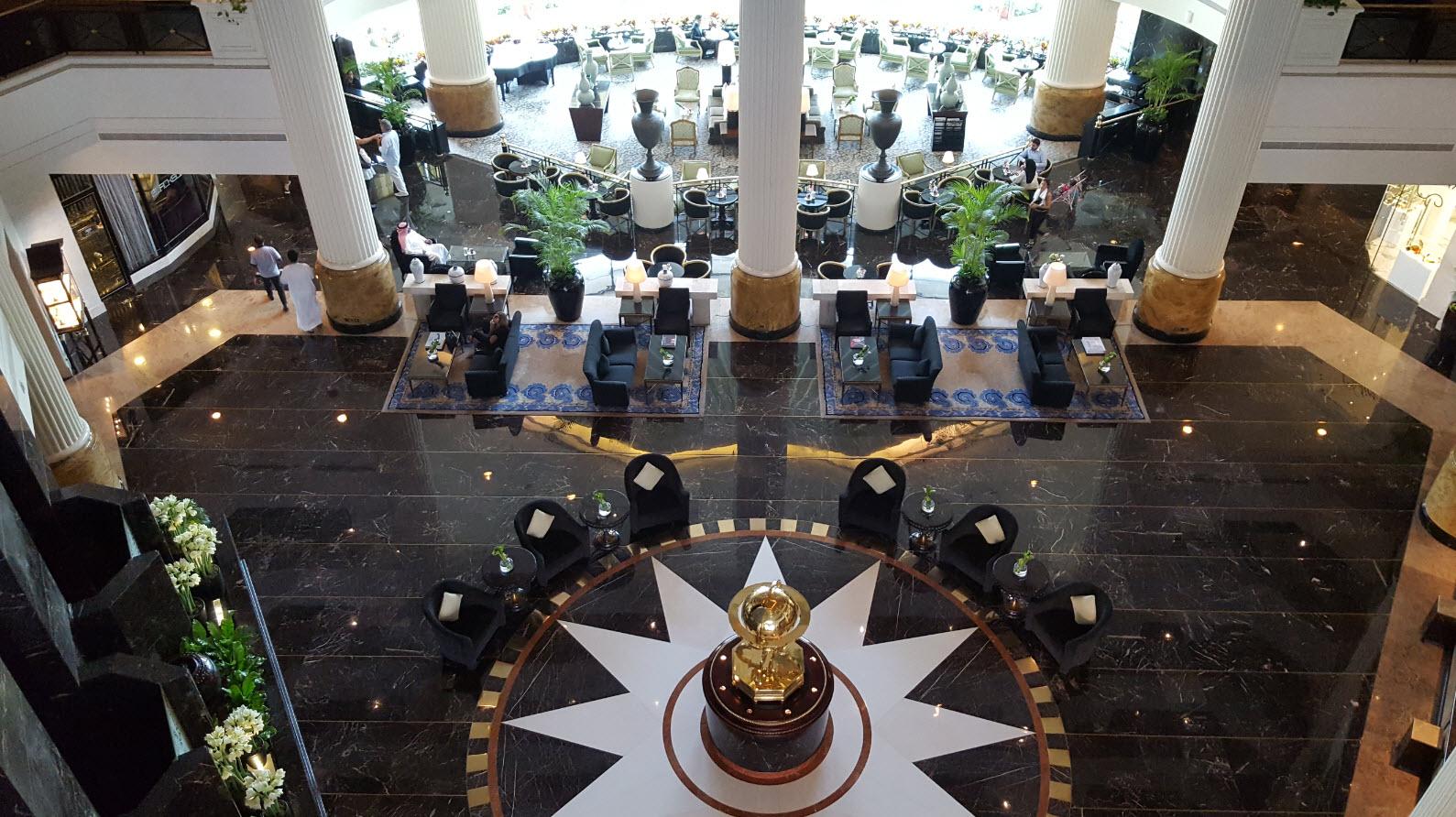 Impressionnant lobby