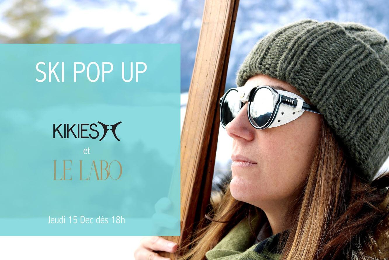 Le Labo et Les Kikies lunettes de ski