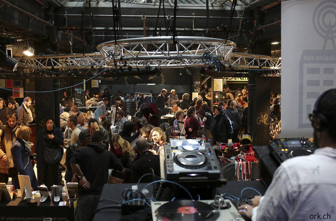 Marche Noel Createurs Usine Geneve