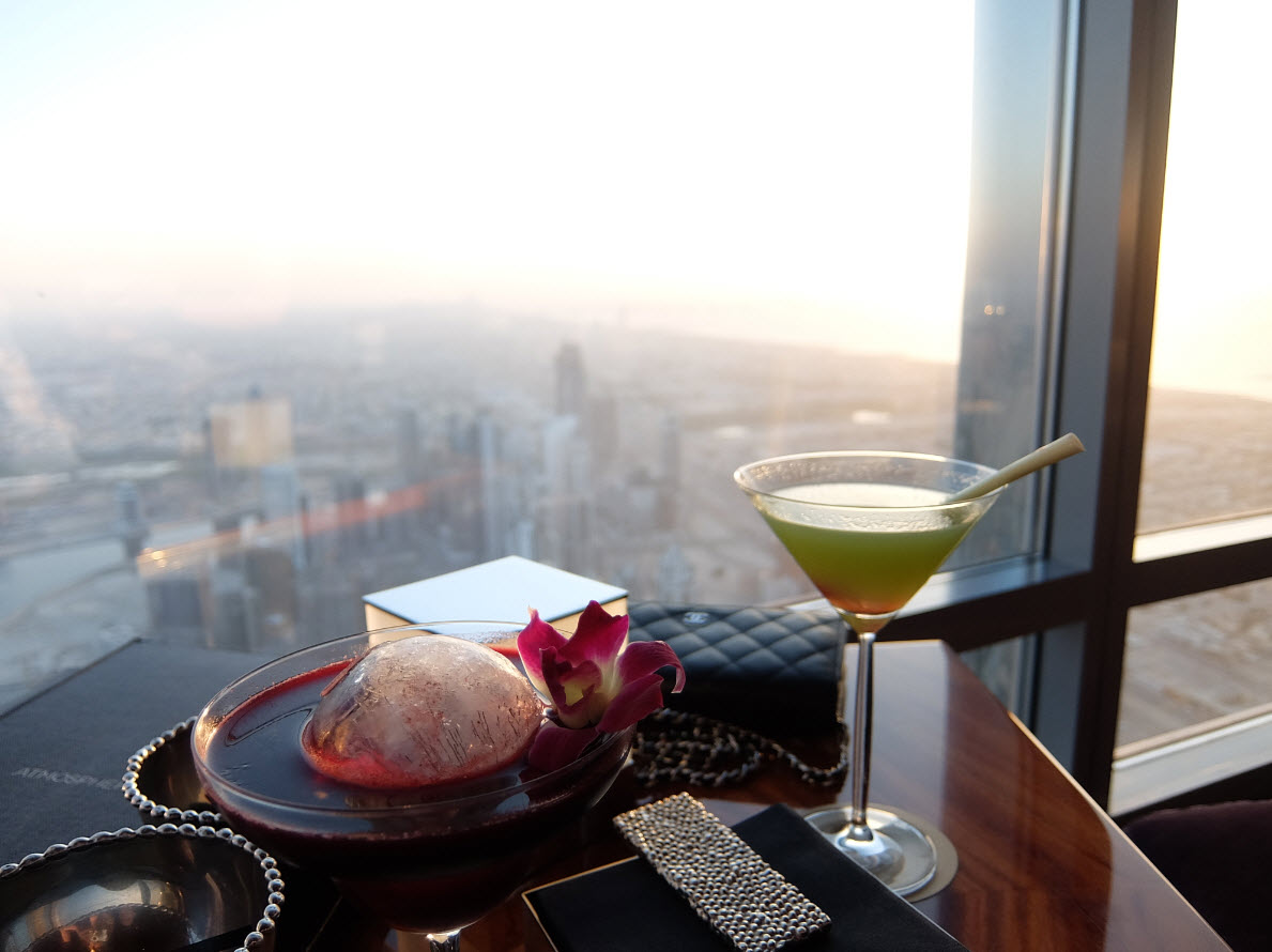 Drink Burj Khalifa Atmosphere
