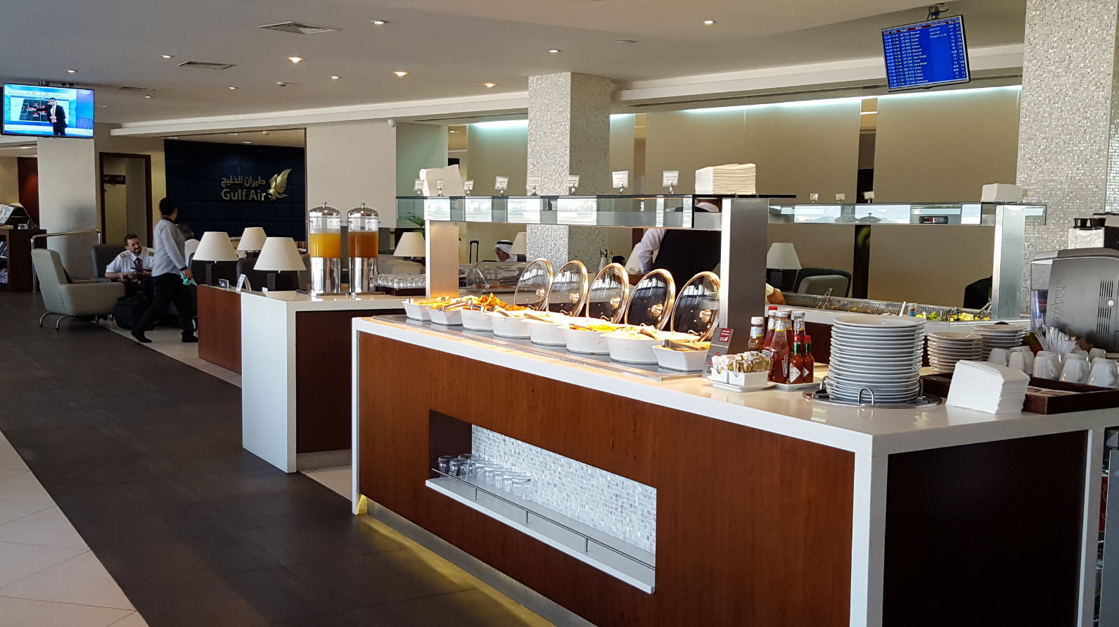 Gulf Air Lounge 3