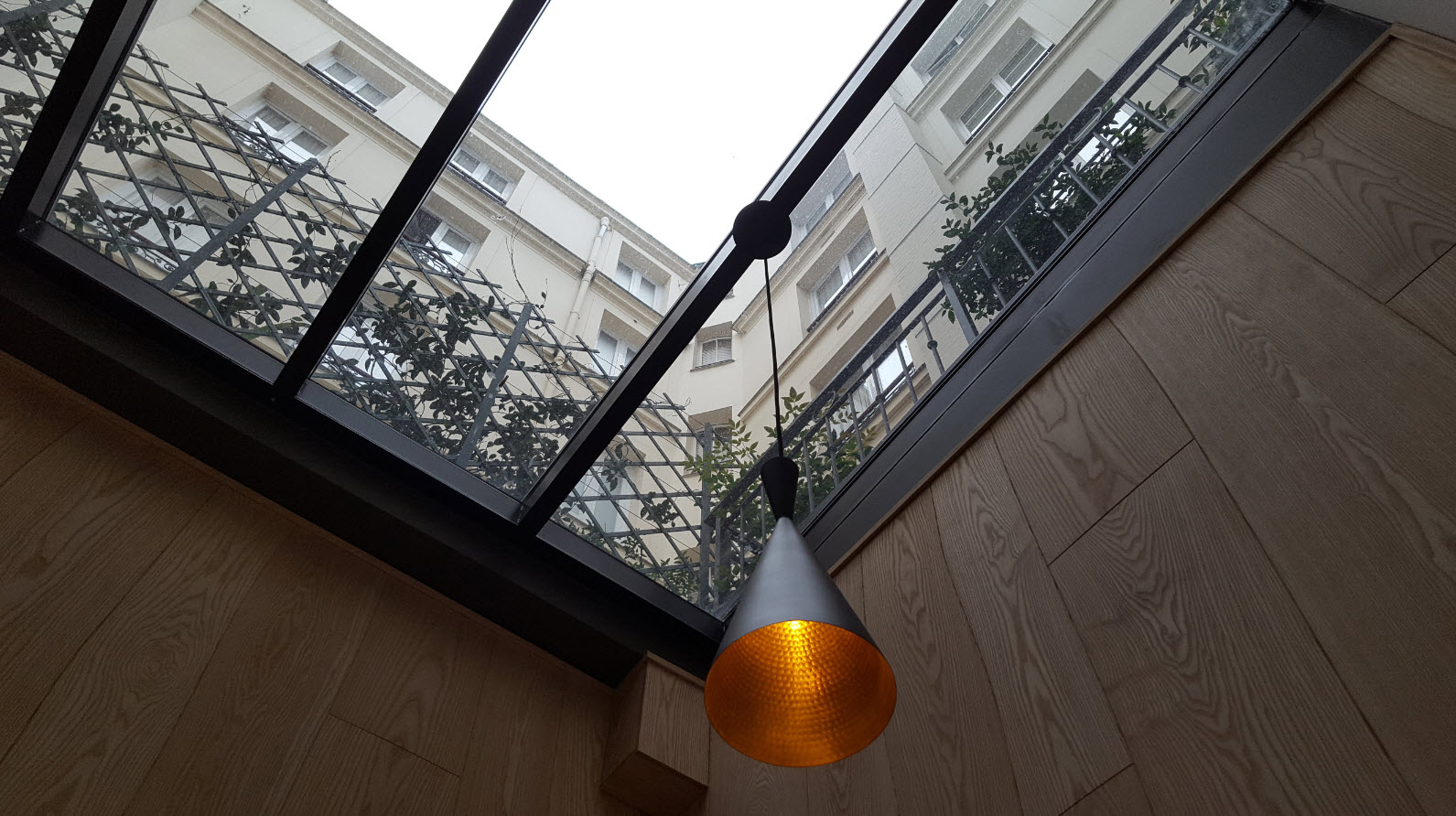 Cour interieure hotel