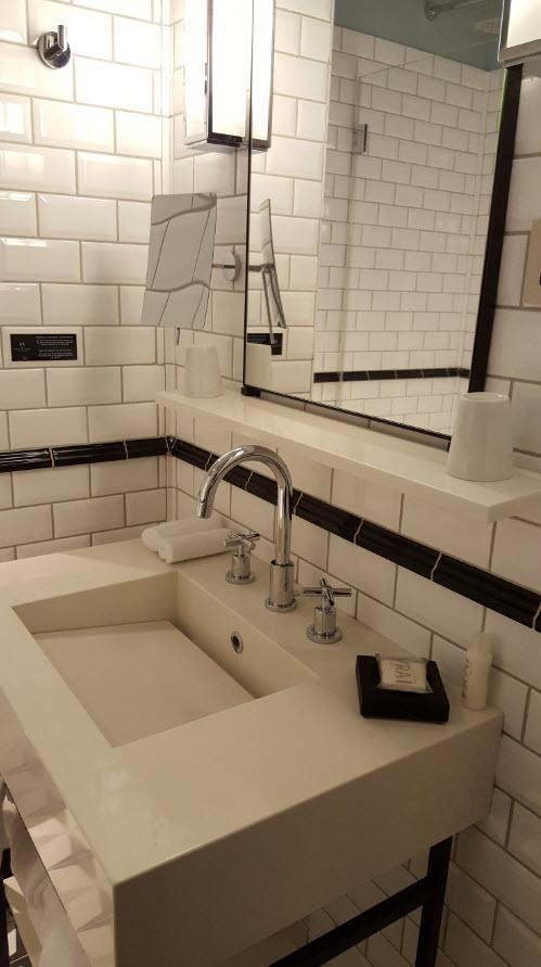 Detail lavabo