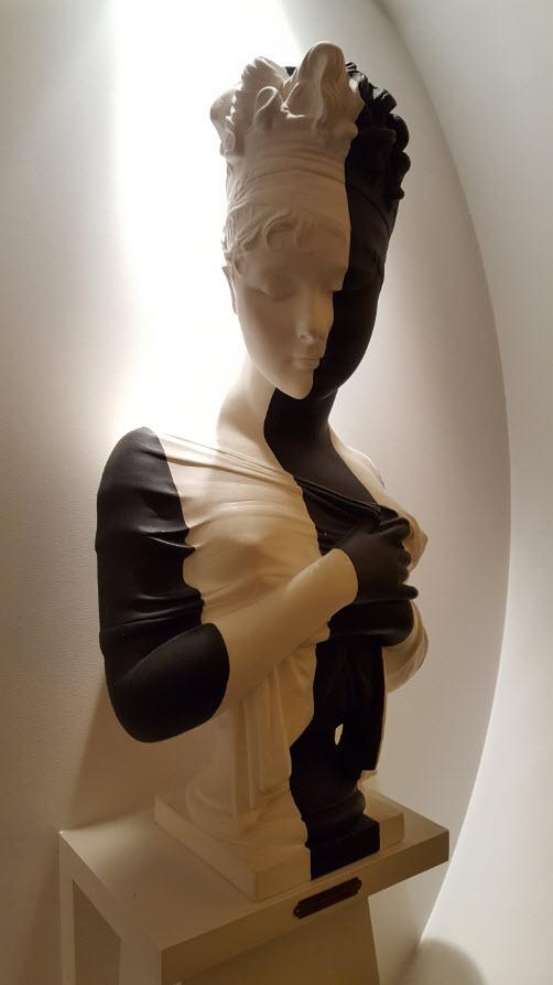 Buste Madame Recamier par Jean louis Deniot