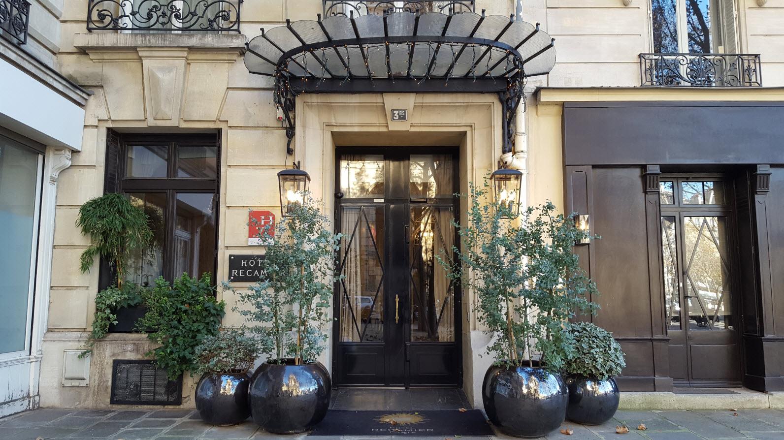 Entree Hotel Recamier