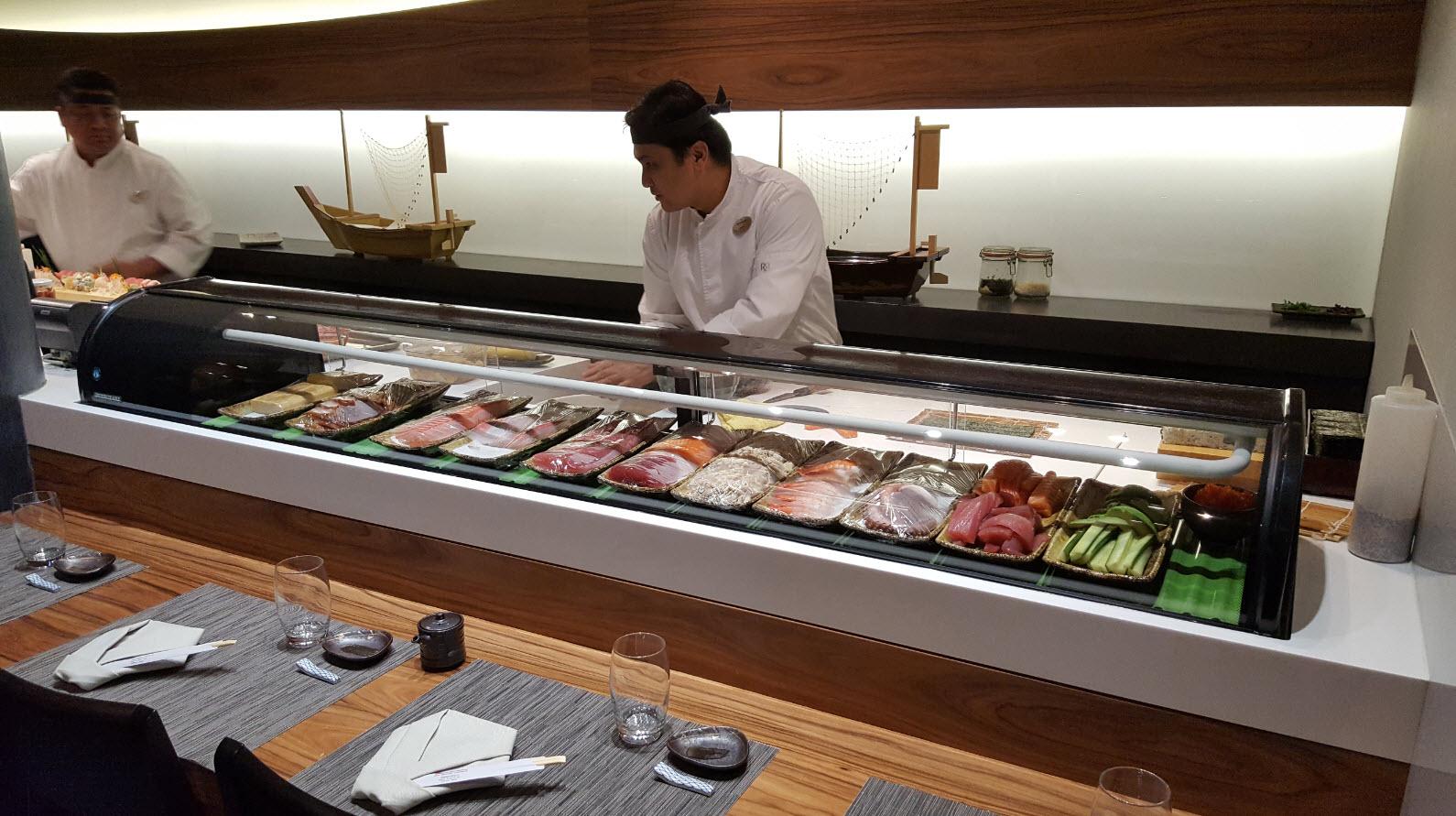 Maitre sushis