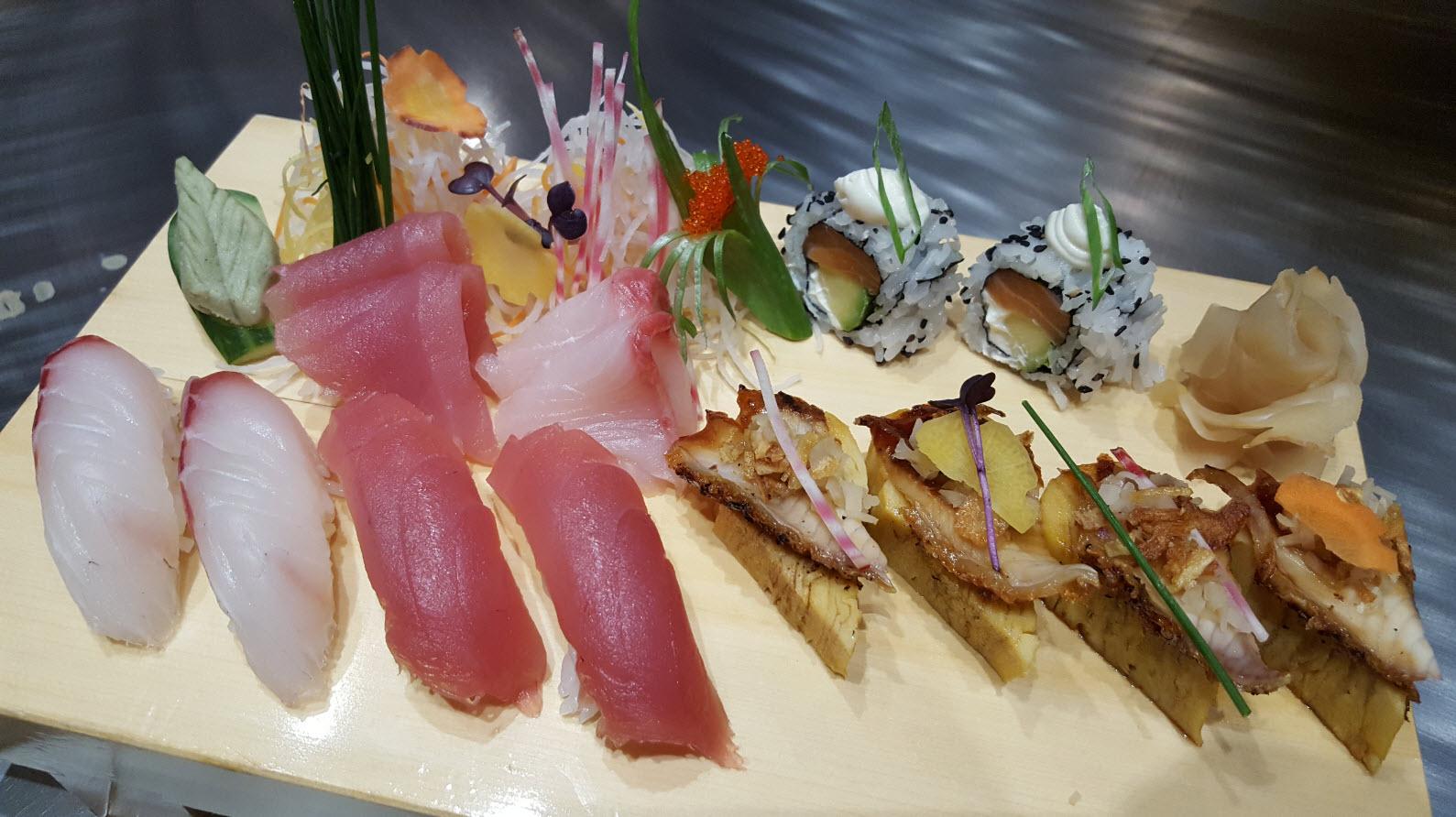 Sushi sashimi moriawase