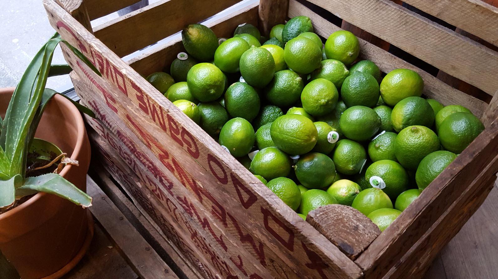 Decoration citrons verts