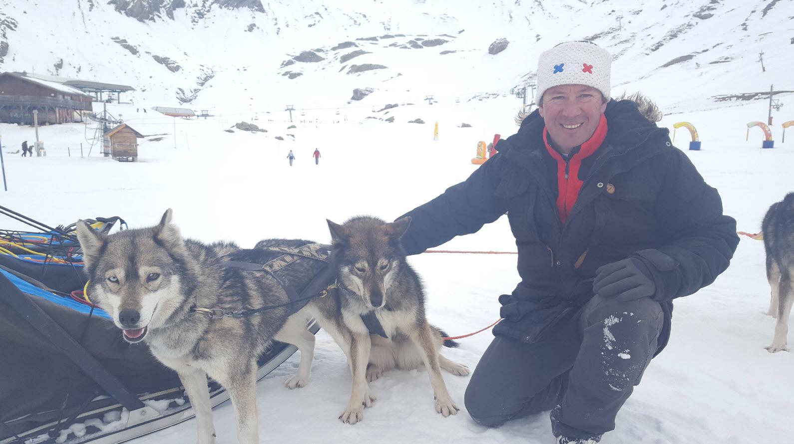 Philippe et ses chiens