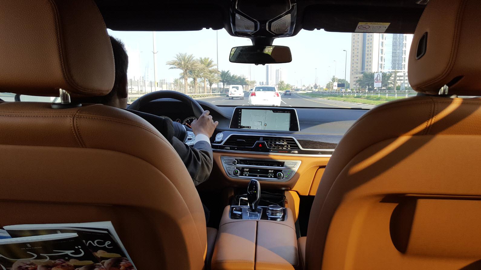 Chauffeur Ritz-Carlton