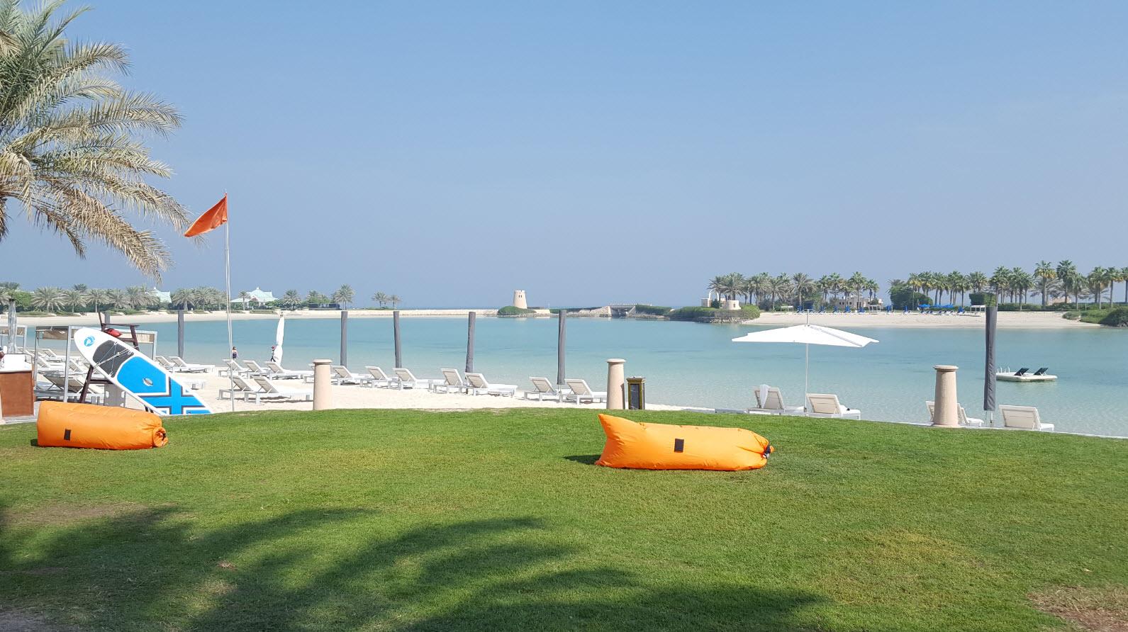 Parc au bord de la plage