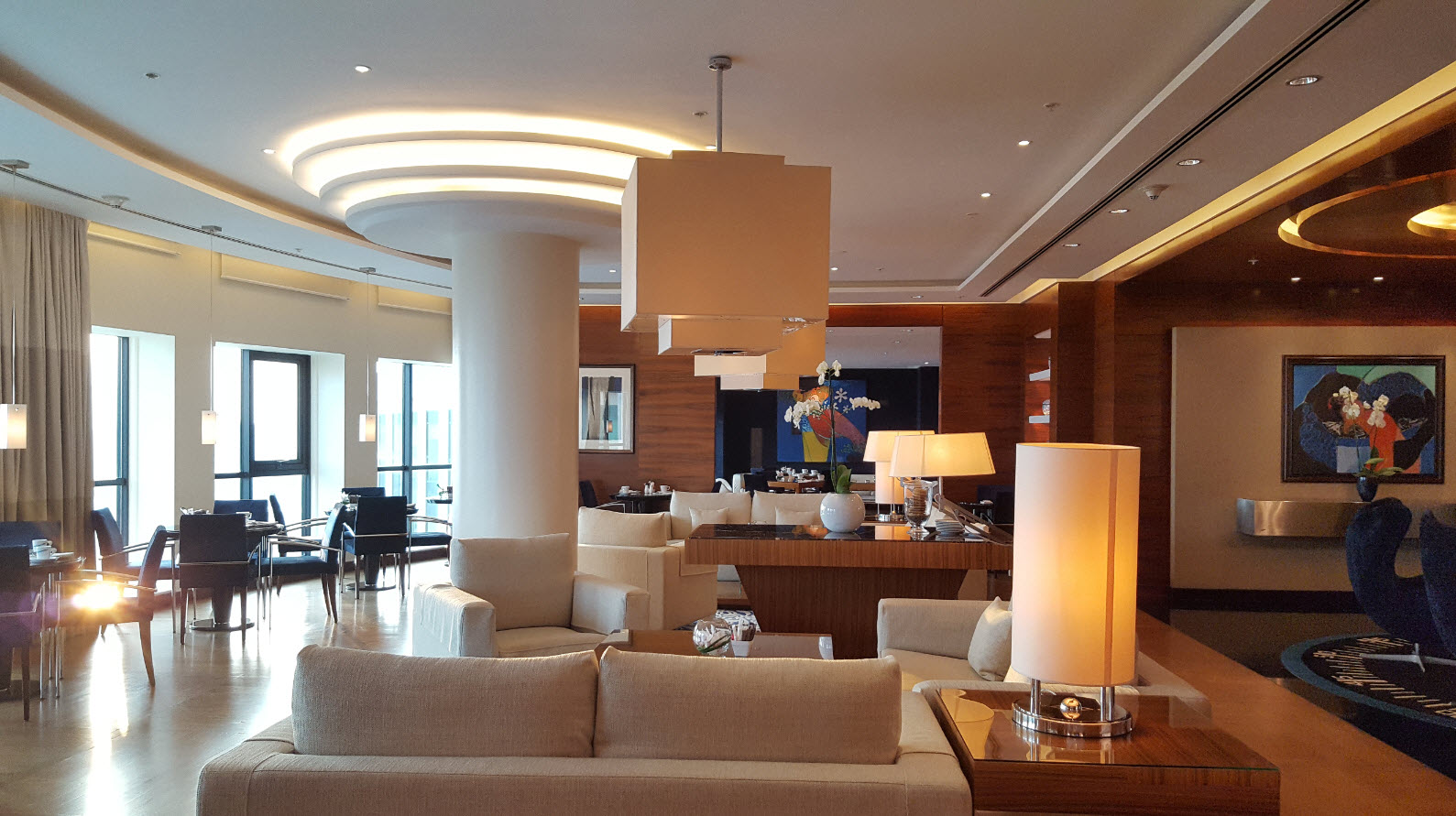 Interieur club lounge