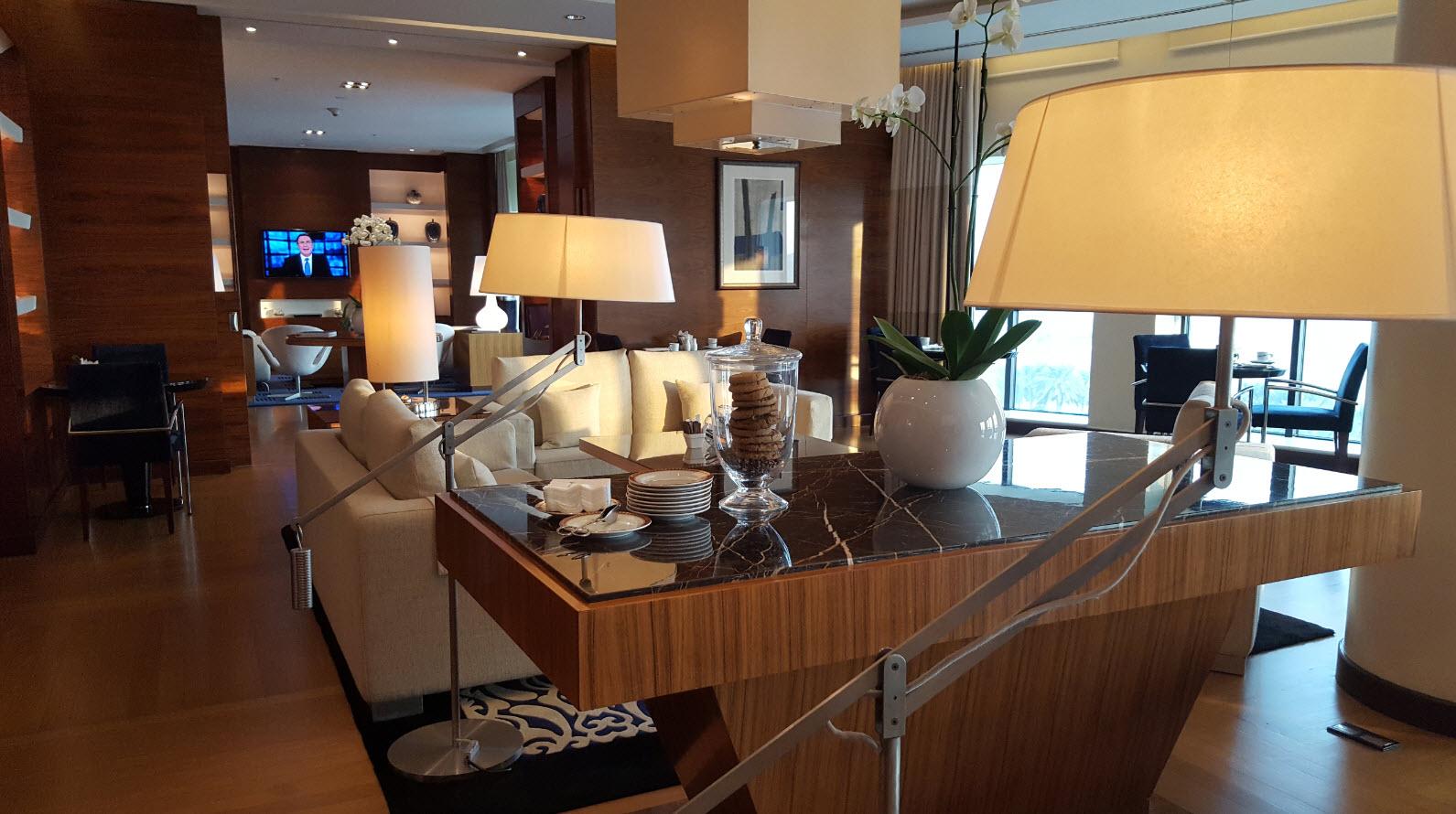 Interieur club lounge Ritz Carlton Bahrain