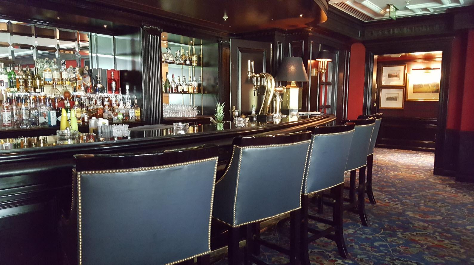 Burlington Club bar