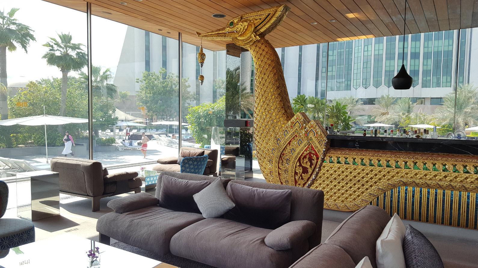 Interieur restaurant Thai
