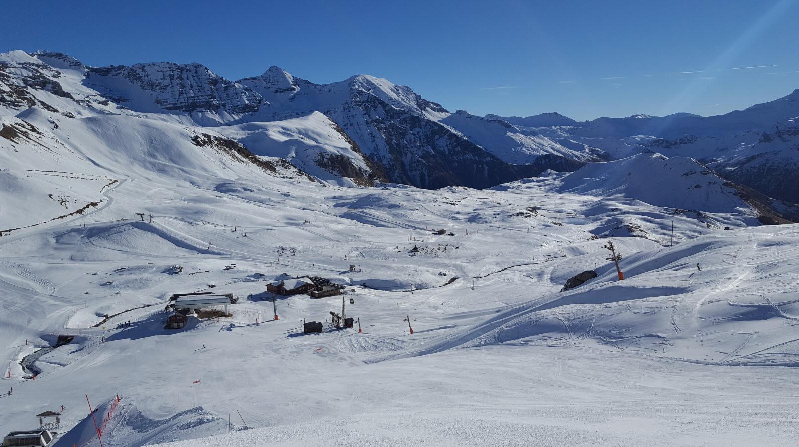 Parc des Ecrins sous la neige