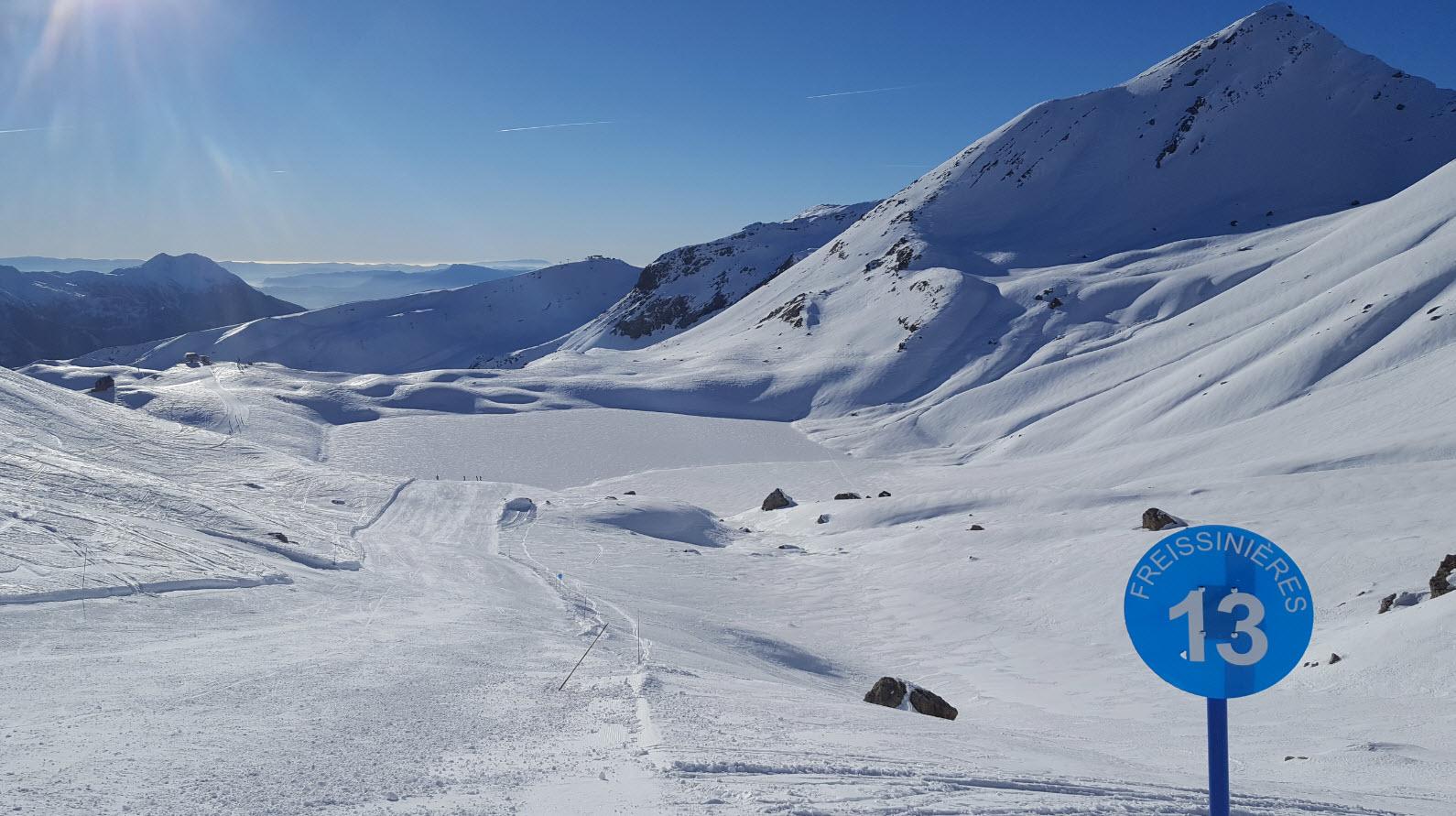 Skier en decembre