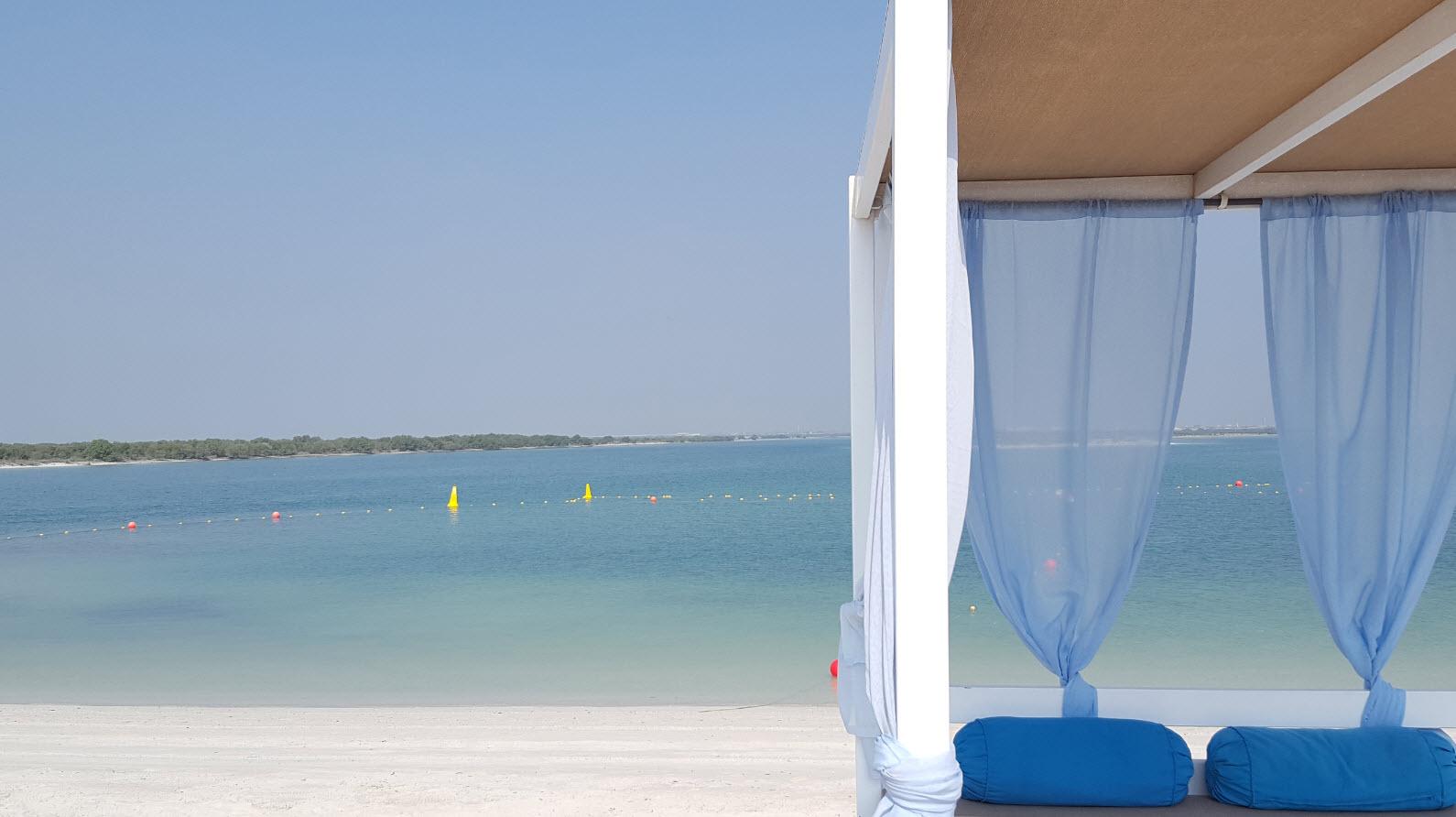 Cabana sur la plage