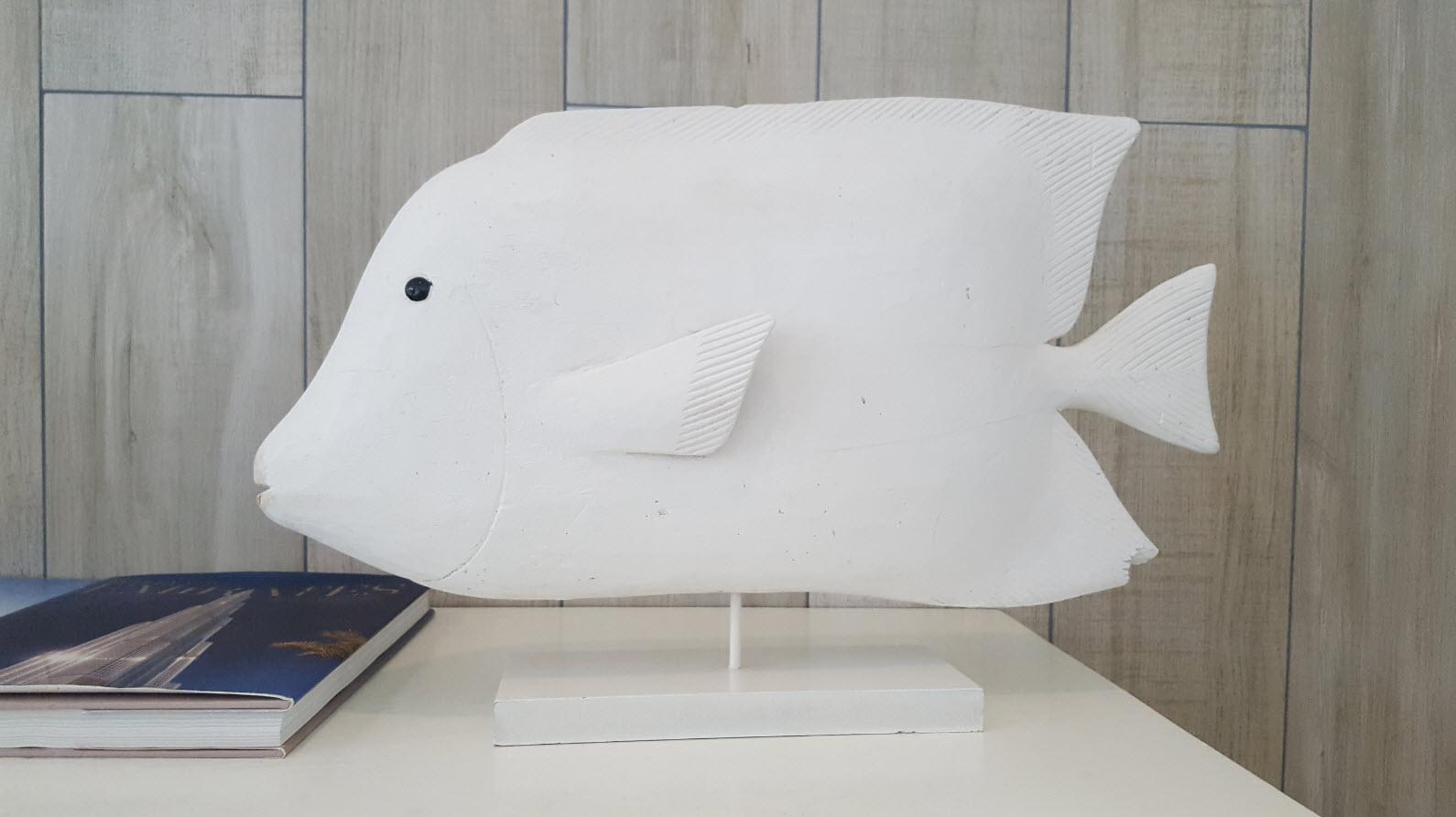 Detail deco poisson