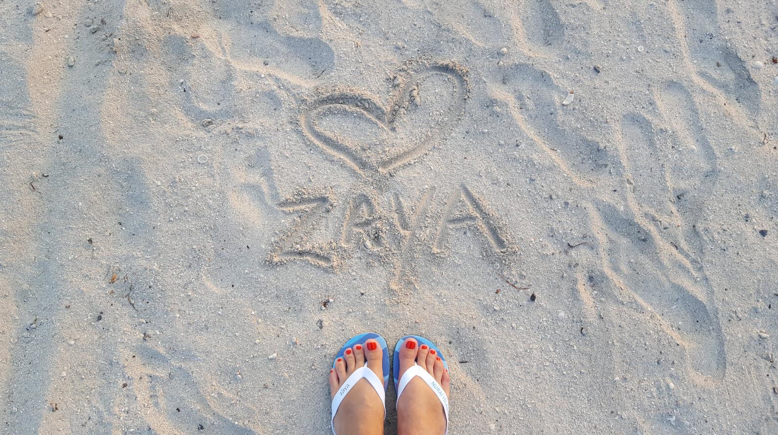 In love with Zaya Nurai Island