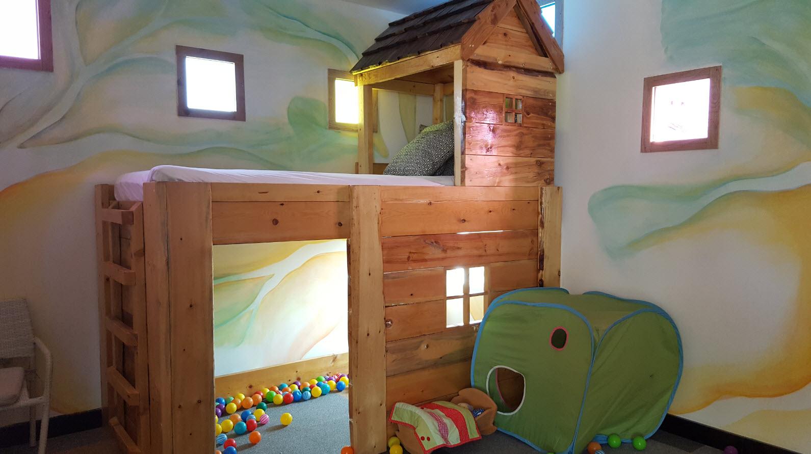 Cabane interieure