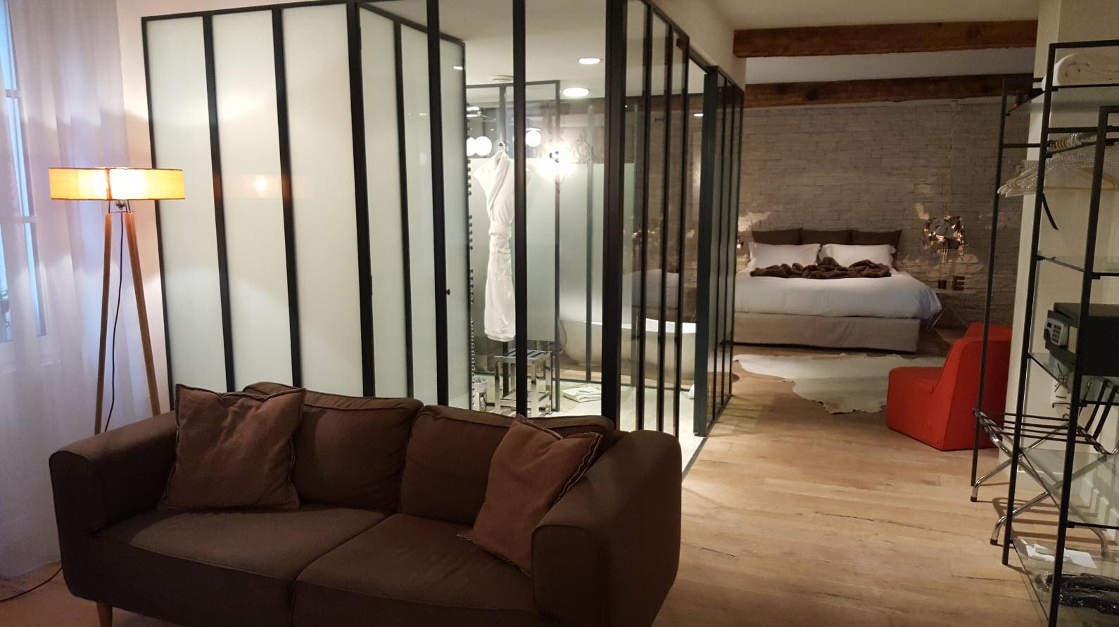 Salon et chambre
