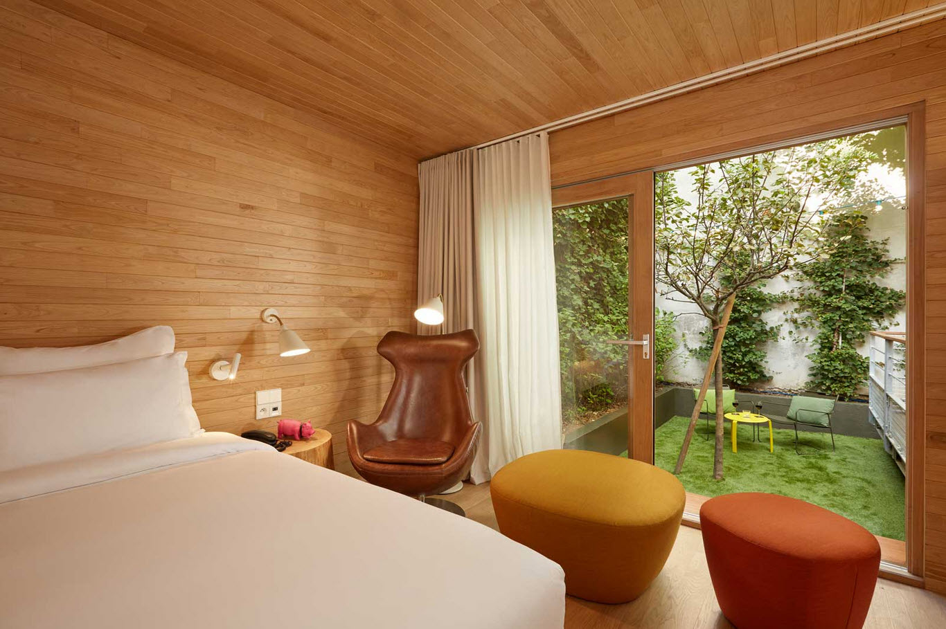 Dormir dans une cabane a Paris
