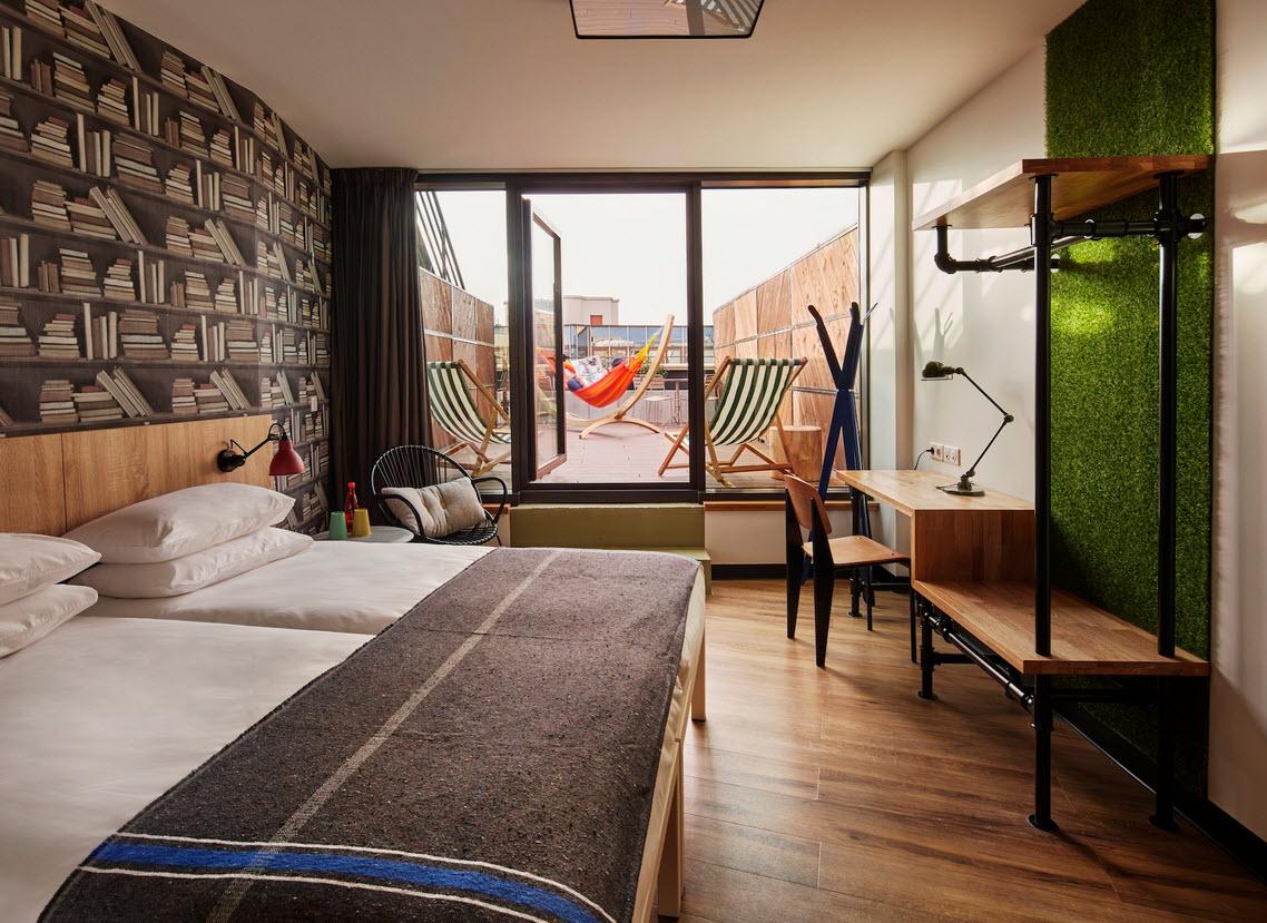Chambre avec hamac Paris