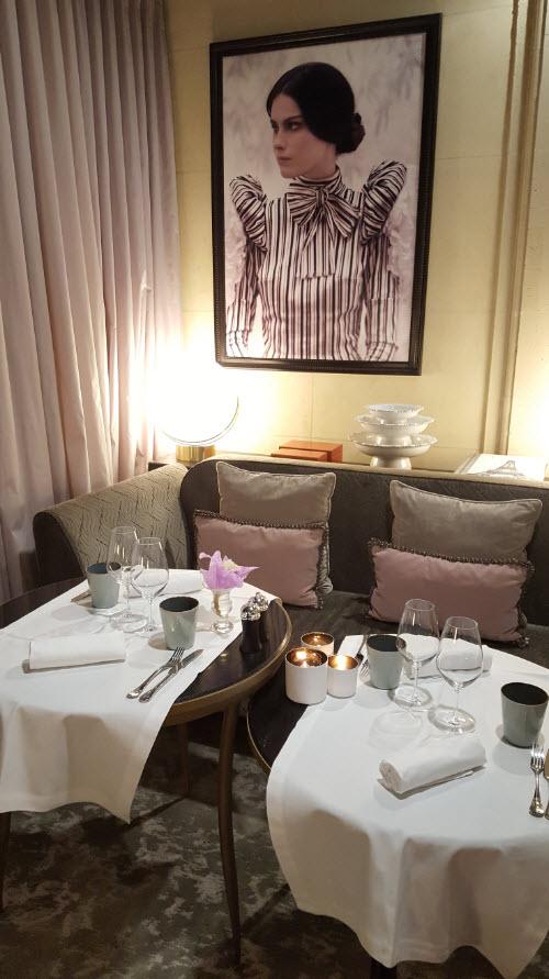 Restaurant romantique intime Paris