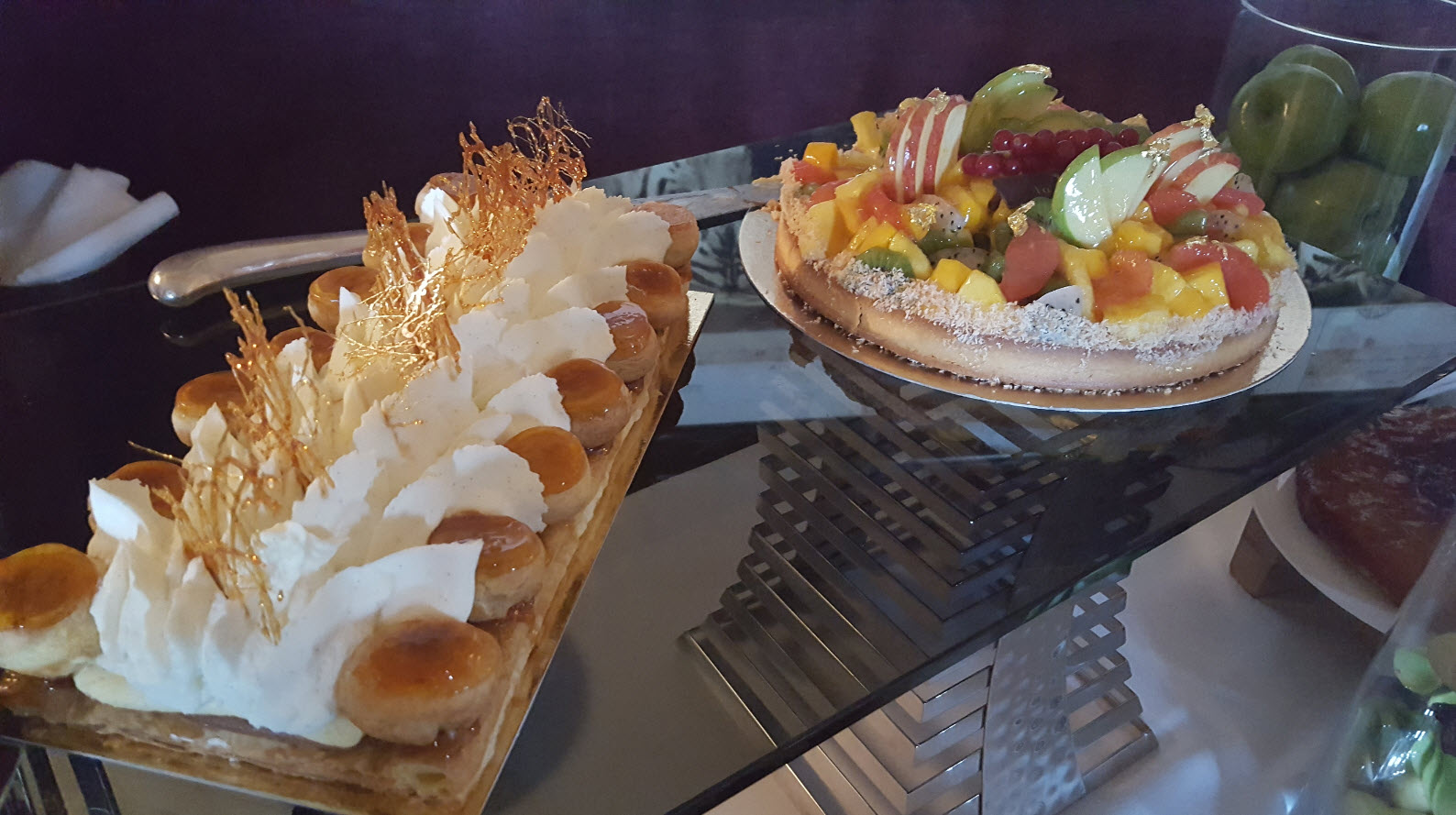 Excellente tarte aux fruits