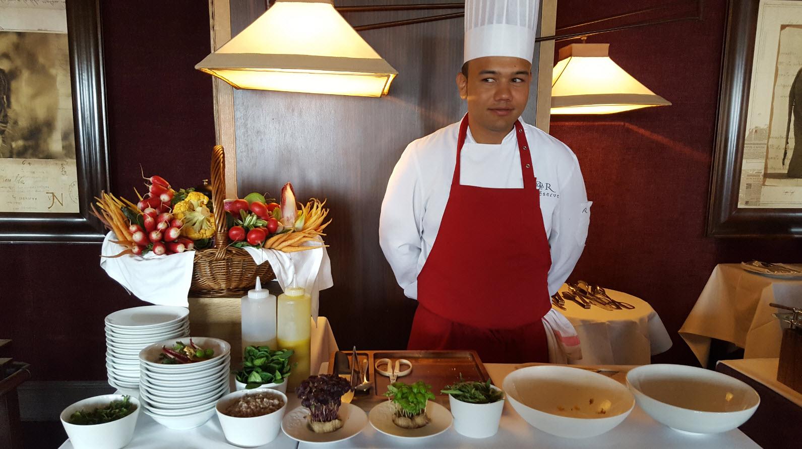 Stand salade Cesar