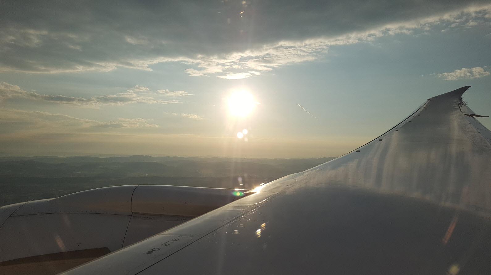 Arrivee sur Zurich