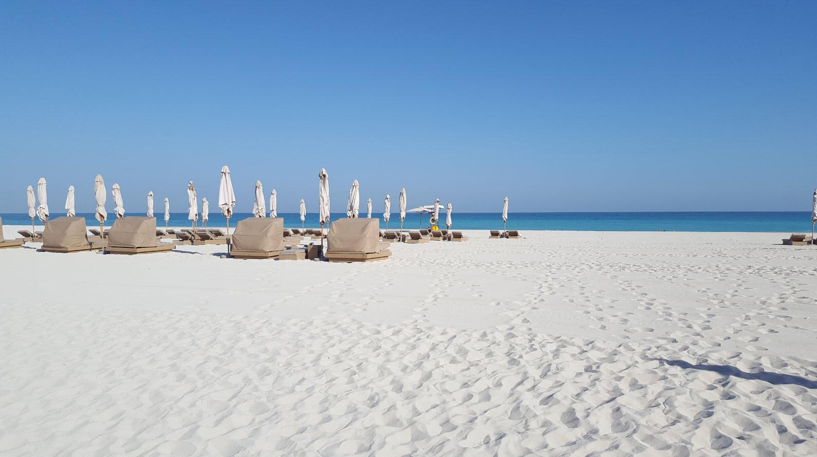 Plage sable blanc et fin