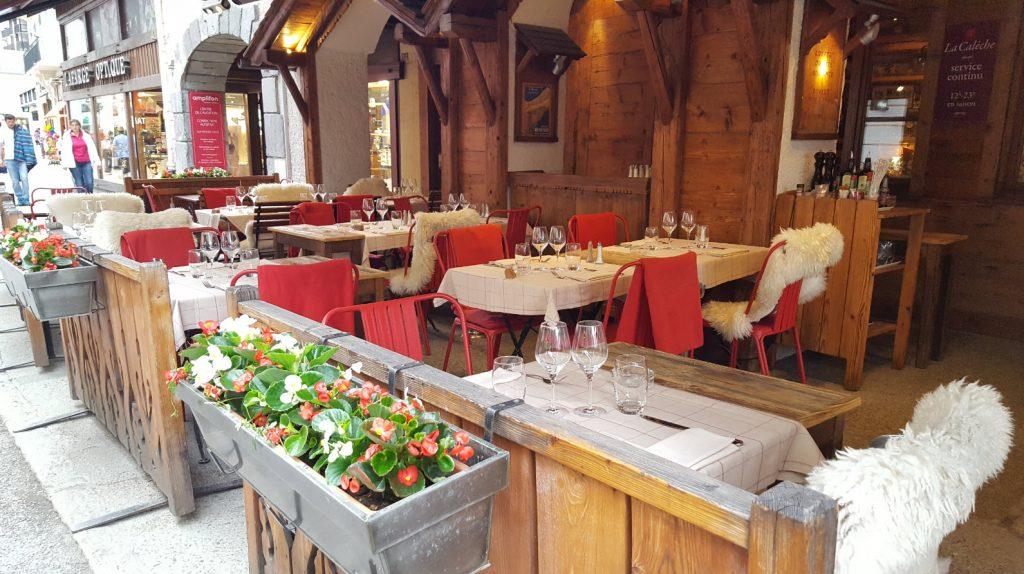 Restaurant specialites montagnardes Chamonix