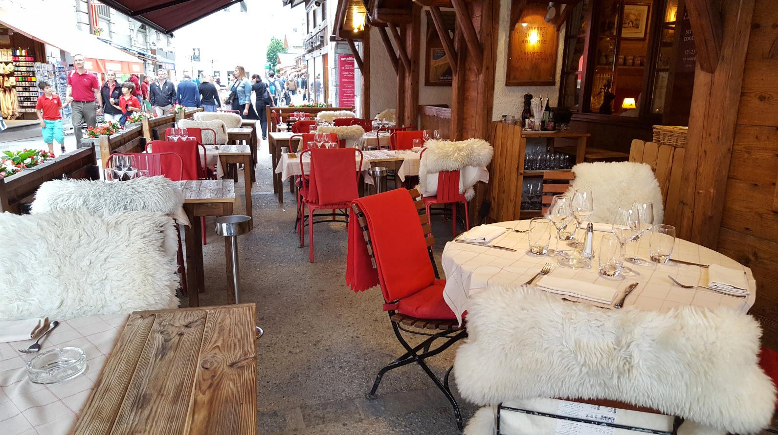 Terrasse Chamonix