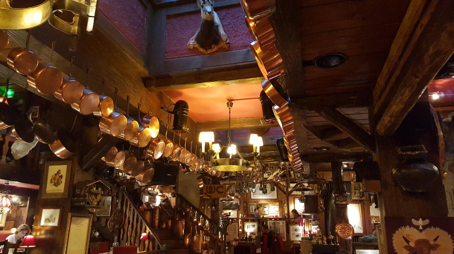 Restaurant typique Chamonix