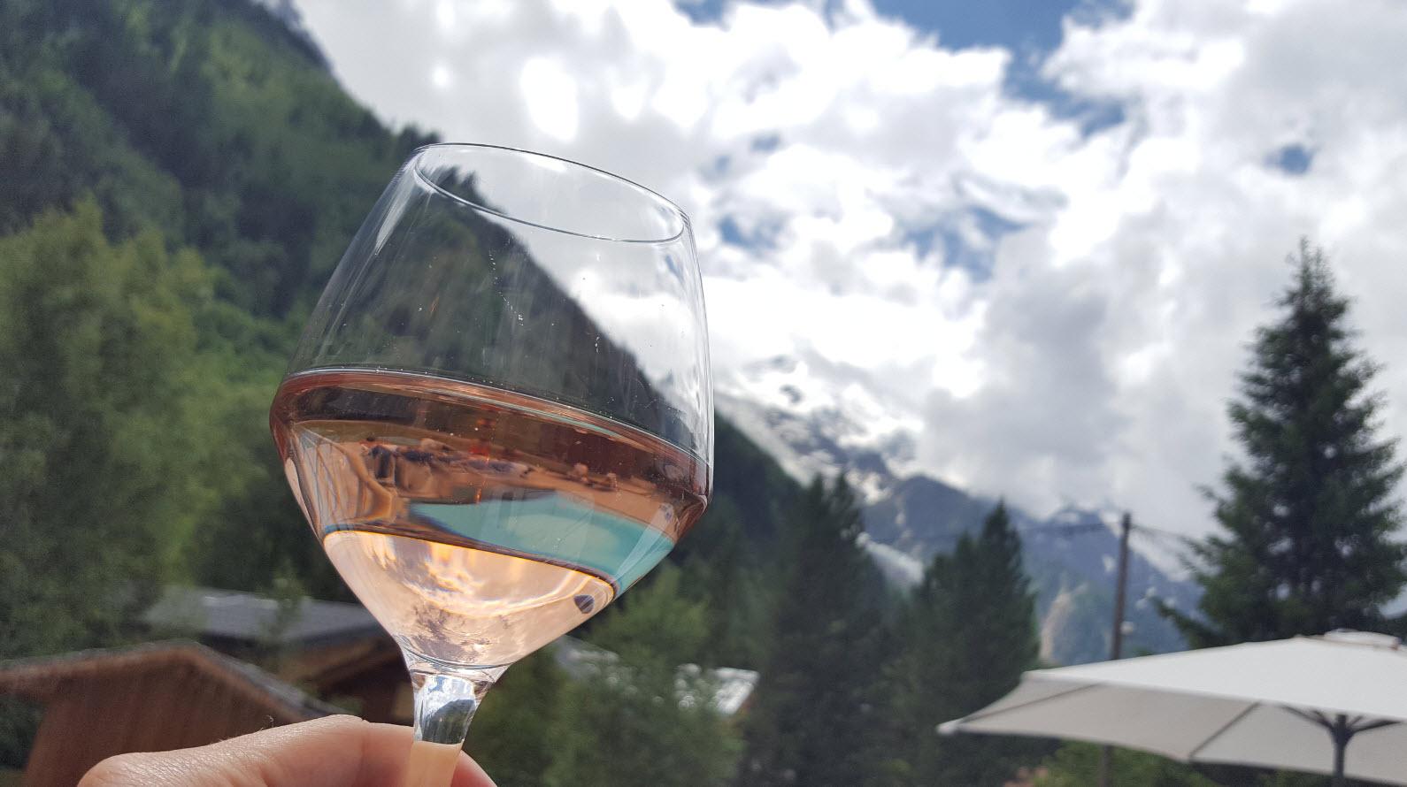 Enjoy the wine...