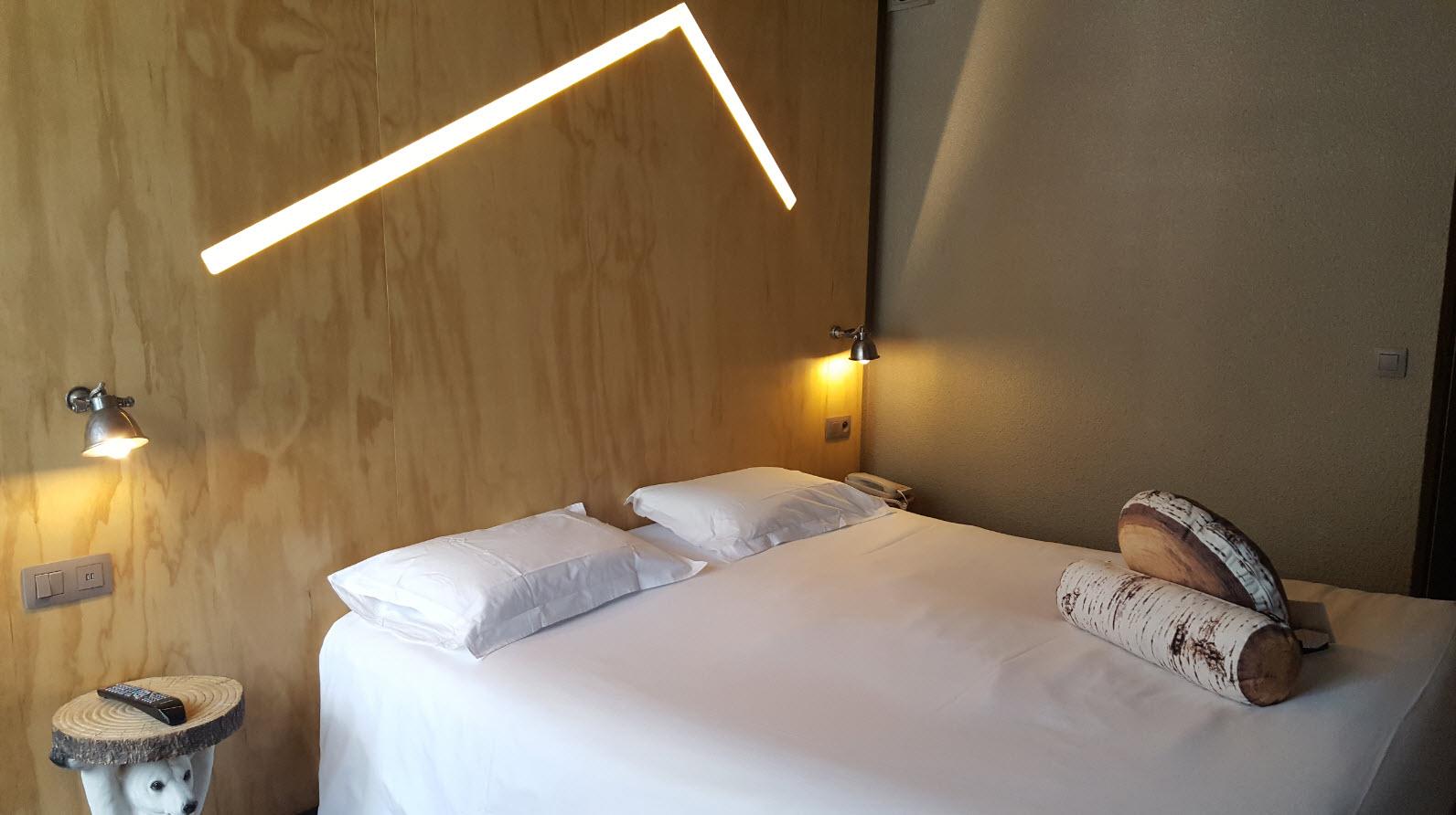 Chambre hotel Refuge Les Aiglons