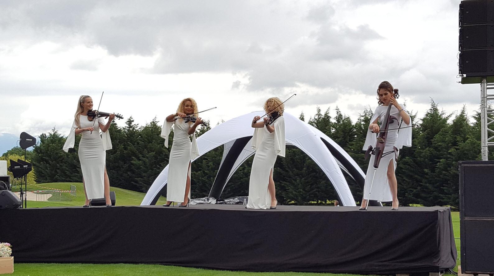 Quatuor de violonistes