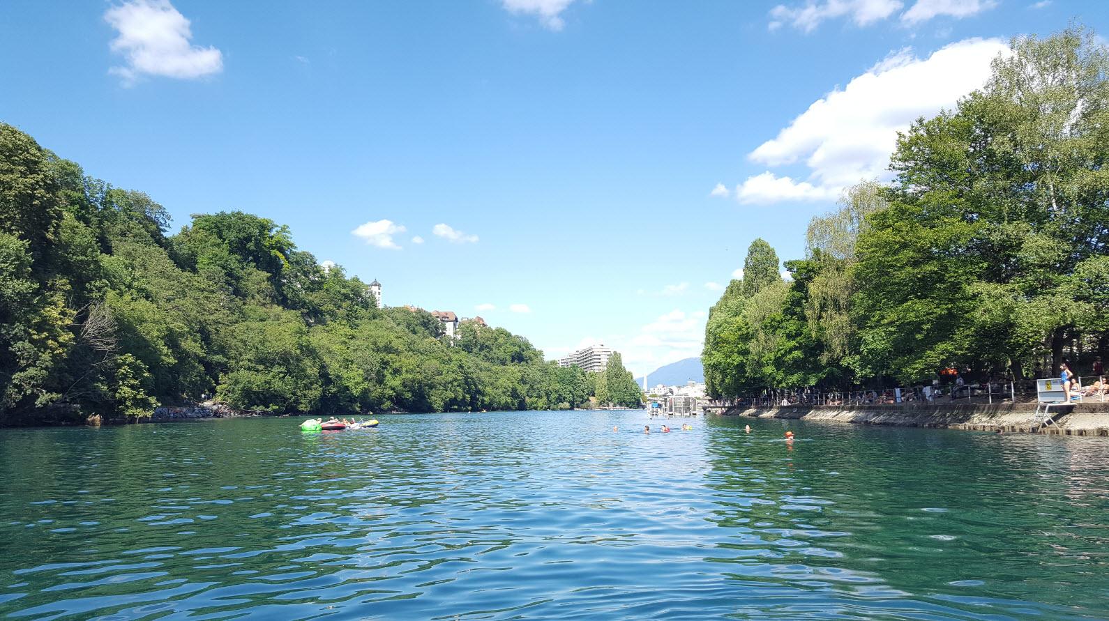 Se baigner a Geneve
