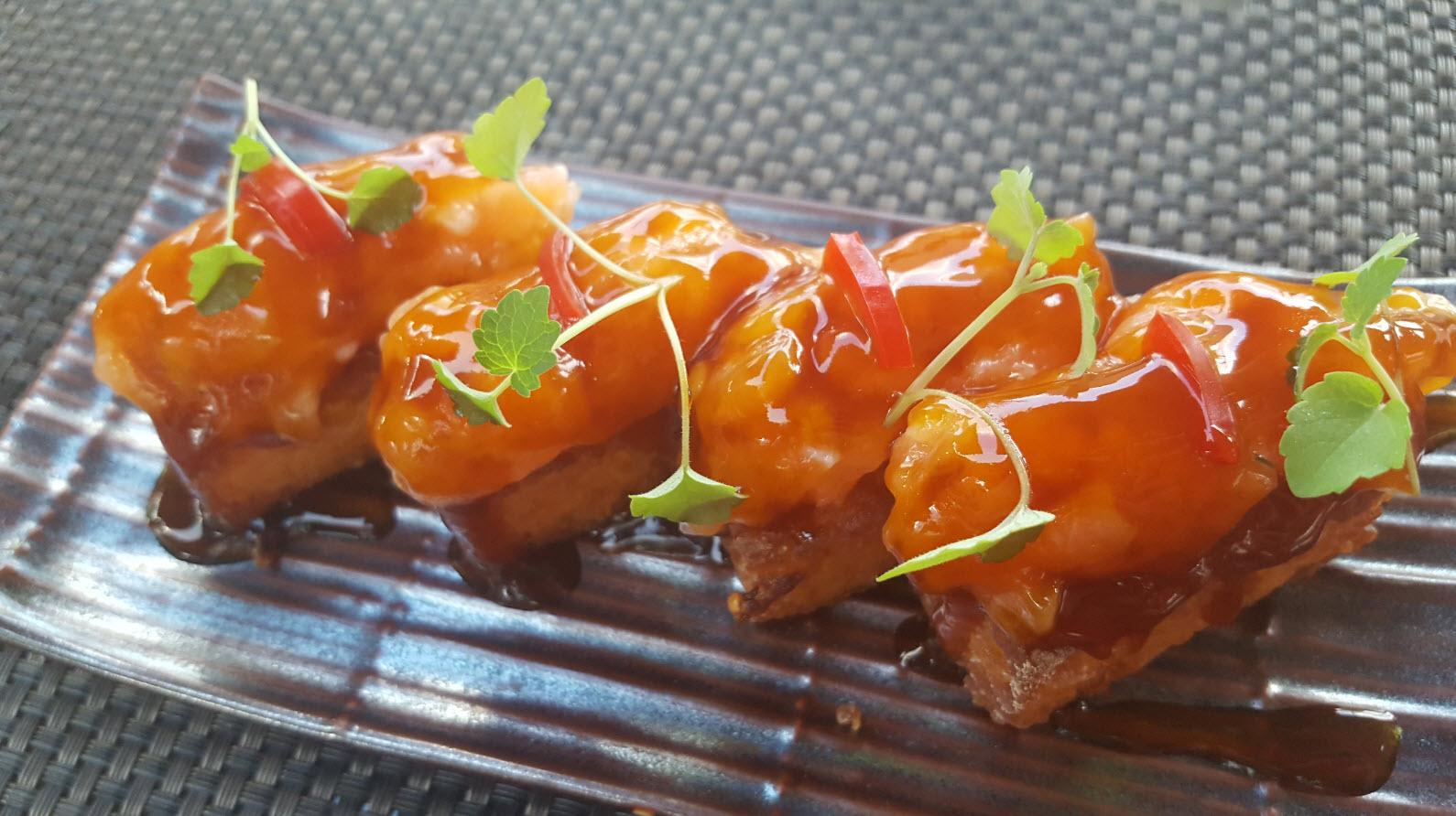 Nigiri crispy saumon