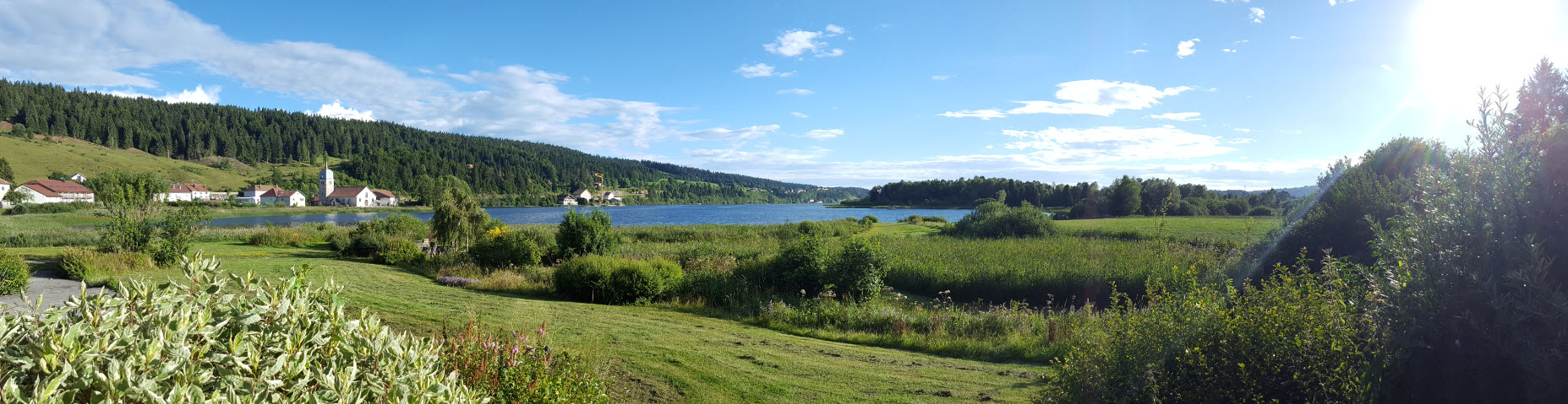 Panoramique lac
