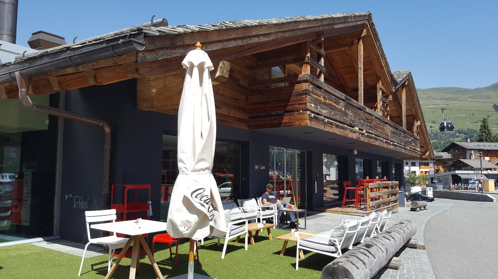 W Cafe terrasse
